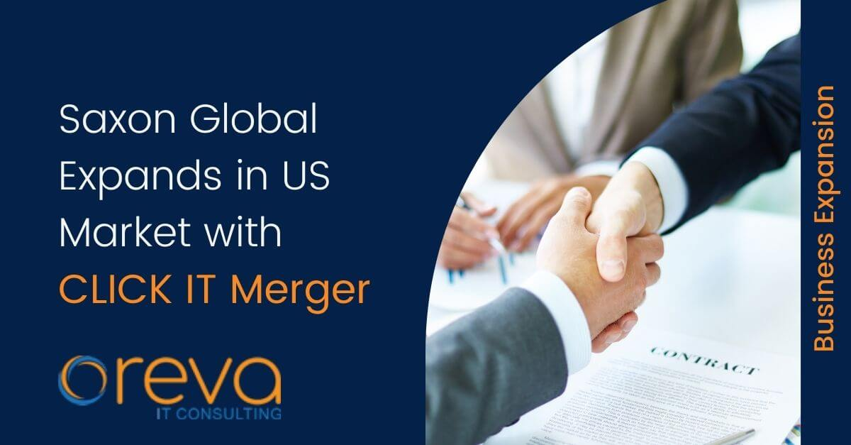 Saxon Global Expands in US Market with CLICK IT Merger